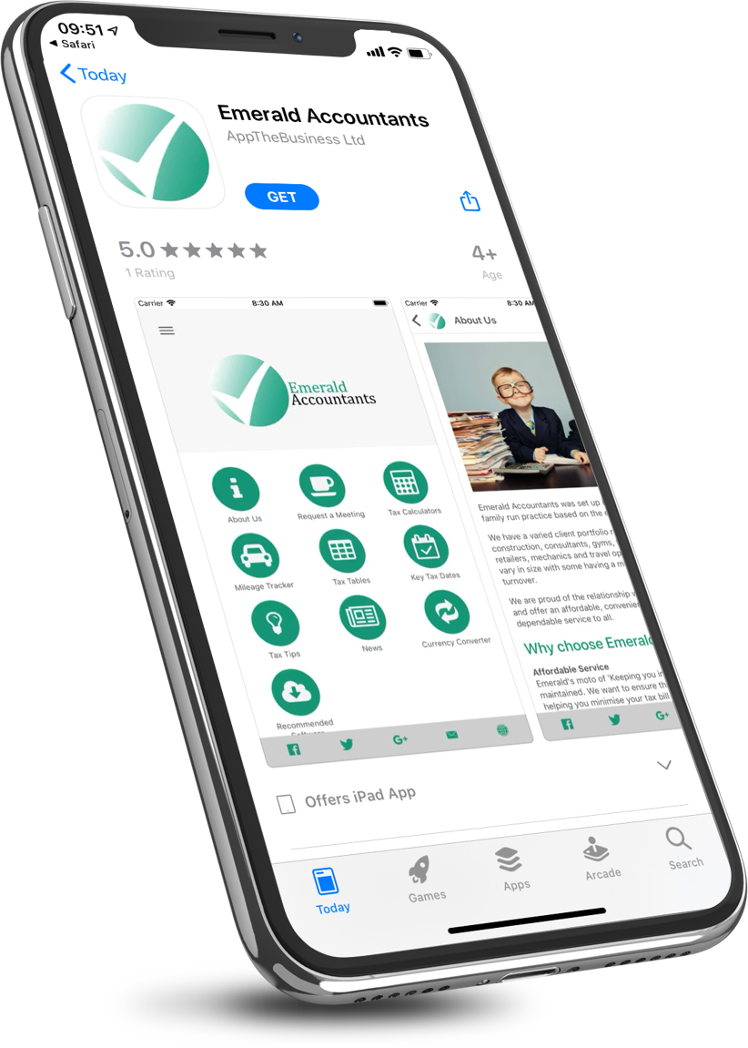 Download the Emerald Accountants App